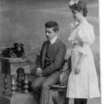 Izydor z siastra Irena ok 1903r