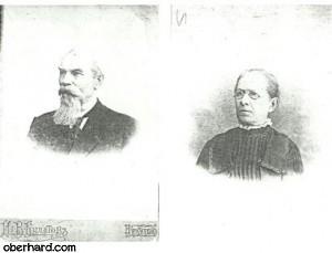 Cezary Kalusowski i Anna Kalusowska ( z d. Judin ) - archiwum rodzinne 1909 r.
