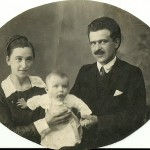 Klaudia, Aleksander, Izydor 1922r.