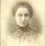 Klaudia Oberhard (Kalusowska) - 1914r.