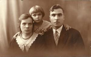 Irena, Franciszka, Stanisław Wołosowicz - 1932r