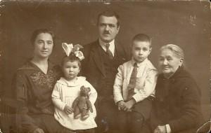 Leningrad 1938 - rodzina OBERHARD