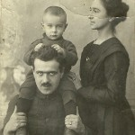 Irkuck 1923 - rodzina OBERHARD