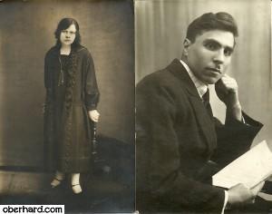 Irena i Stanislaw Wolosowicz - 1925 r