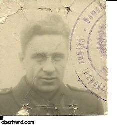 Aleksander Oberhard II rok 1945
