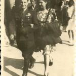 Aleksander Oberhard i Franciszka Wołosowicz rok 1947