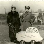 Aleksander i Franciszka Oberhard 1950 rok