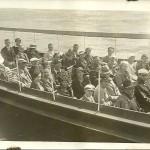 Wycieczka po Wisle 1935 rok (w 4 rzedzie od konca rodzina Wolosowiczow)