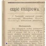 Aleksander Oberhard we władzach aptekarskich 1907
