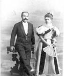 Aleksander i Krolina Oberhard ( Finkelstein von ) ok 1875 r