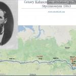 Cezary Kałusowski zesłanie 1863