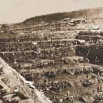 Kopalnia zlota, koniec XIX wieku.