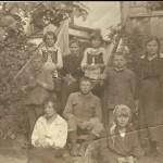 Tarłowscy r. 1918 Kazimierz Dolny nad Wisła