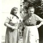 Klementyna i Irena Tarłowskie 1961