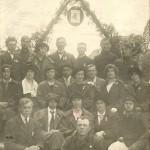 Irena Wołosowicz ( Tarłowska )  1923 Kolo Młodziezy Wiejskiej Uczącej Kazimierz nad Wisłą