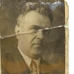 Izydor Oberhard. 1937 rok. Przed aresztowaniem przez NKWD.