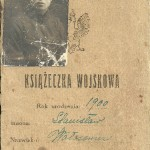 Saper S. Wołosowicz 1920 r.