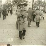 S. Wołosowicz z córką Franciszką. 1933 r.