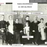 Cezary Kałusowski - zdjęcie rodzinne ok 1900 roku Irkuck