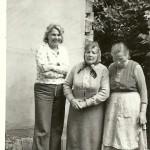 Franciszka Oberhard, Klementyna Tarłowska, Irena Wołosowicz 1970