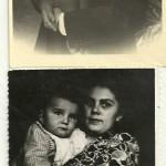 Aleksander II i Franciszka Oberhard z synem ( 1950 - 1953 )