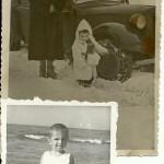 Franciszka Oberhard z synem (1951 - 1952 )