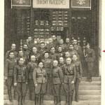 Departament WOP 1946r. Z prawej A. Oberhard