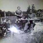 Stanisława Tarłowska  (z lewej). Ok 1920r.