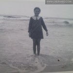 Franciszka Wołosowicz 1935r. Rodzinne wakacje nad morzem Sopot