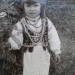 FRANCISZKA WOŁOSOWICZ 1930r. Na ludowo ;)