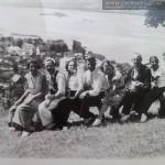 Widok na Kazimierz Dolny ,ok 1930. W środku Stanisław Wołosowicz (mąż Ireny Tarłowskiej)