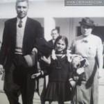 RODZINA WOŁOSOWICZ 1937r Stanisław, Franciszka, Irena