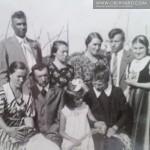 Rodzina Wołosowicz i Tarłowscy 1935r - Kazimierz Dolny nad Wisłą