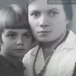 FRANCISZKA WOŁOSOWICZ Z MAMA (Irena) 1932r
