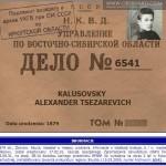 Aleksander Kałusowski - represje