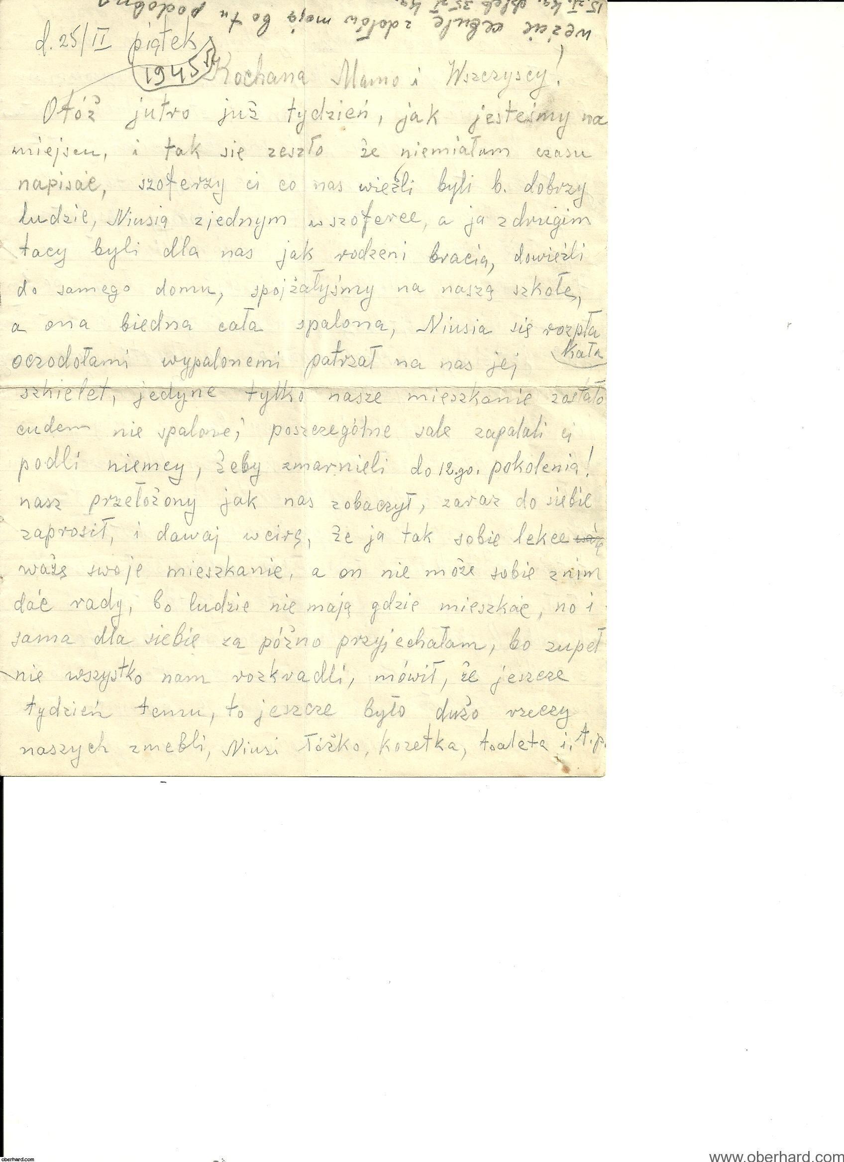 Pamiętnik Ireny Wołosowicz 1945
