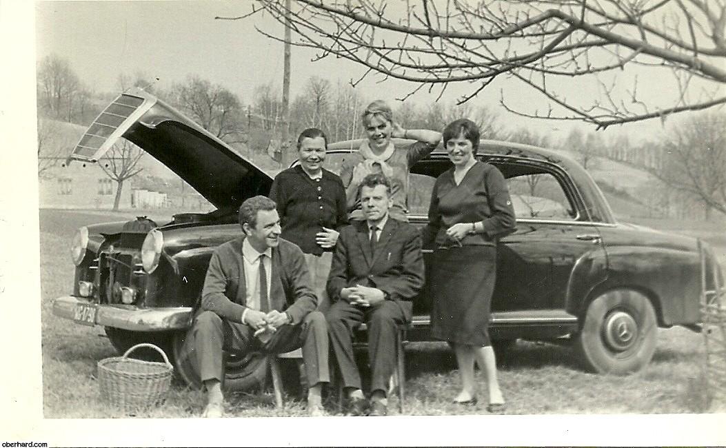 Rodzina Oberhard, tarłowskich i Pomorskich razem (1964)