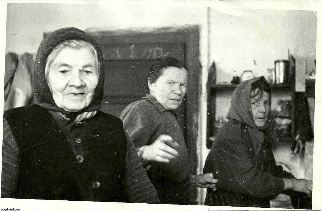 Matka (Stanisława), i córki (Irena i Klementyna) - ok. 1964r