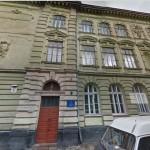 Dawny budynek żeńskiej szkoły im. Tadeusza Czackiego - mapa google 2014