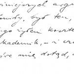 List do prof Kazimierza Twardowskiego (1)
