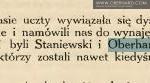 Izydor Oberhard - życie wśród Polonii
