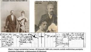 Rodzina Oberhard Lwów XIX - XX wiek