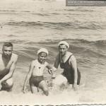 Wakacje na morzem. Rodzina Wołosowicz.