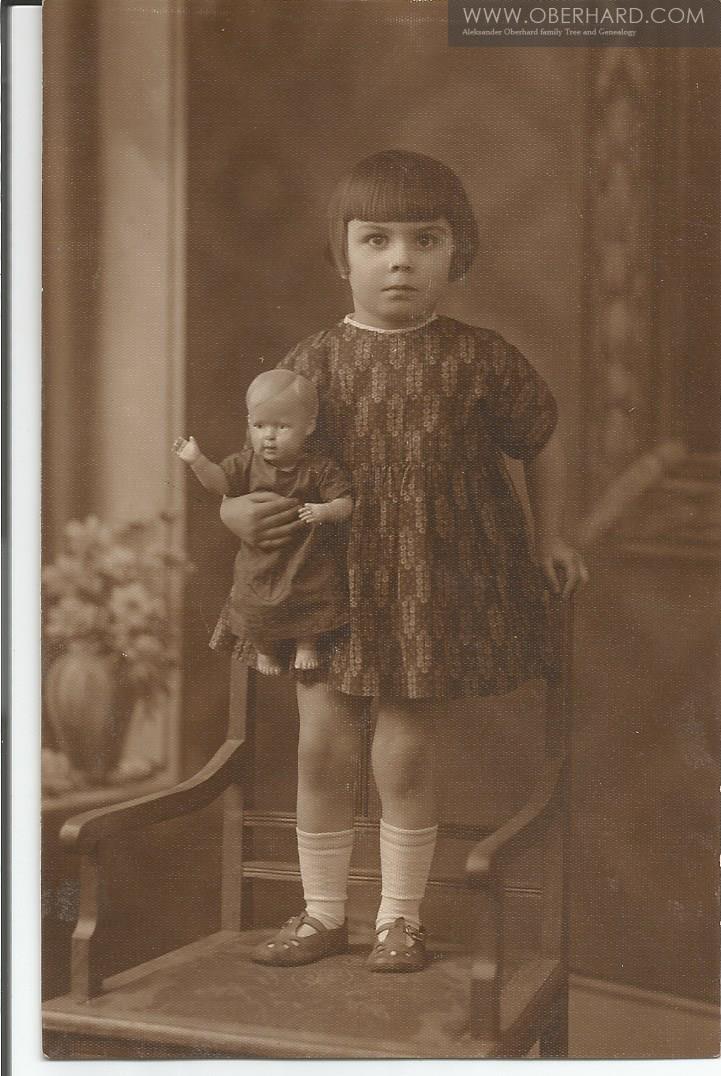 Rok 1932. Mała Franciszka Wołosowicz. Ulotne chwile...
