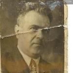 Izydor Gustaw Oberhard - ostatnie zdjęcie 1937 rok
