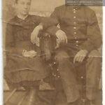 Miroslawa Woszczerowicz ok 1885_1890 roku (z bratem)