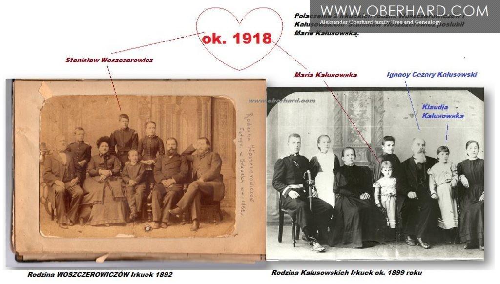 Rodziny Woszczerowiczów i Kałusowskich www.oberhard.com
